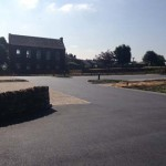 New farmshop driveway